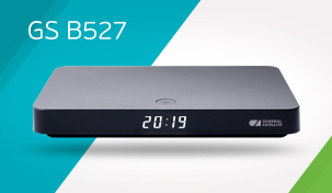 An affordable 4K set-top box by General Satellite in a new design